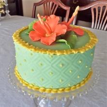 Hybiscus Cake