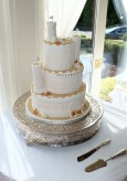 Wedding Sand Castle Cake