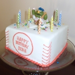 Red Sox Wally Cake