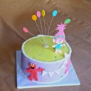 Elmo & Poppy Cake