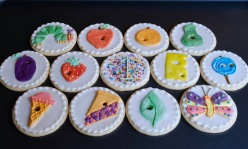 Hungry Caterpillar Cookies