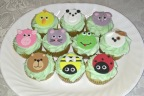 Animal Menagerie Cupcakes