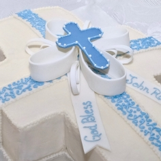 Communion Cross Cake