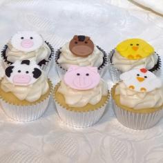 Barnyard Cupcakes