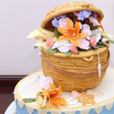 Nantucket Basket Cake