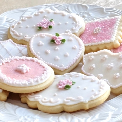 Victorian Themed Cookies